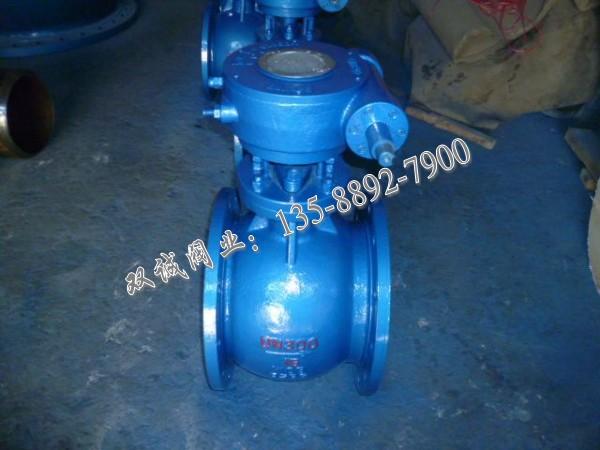 PBQ340H不锈钢偏心半球阀,温州偏心半球阀厂家