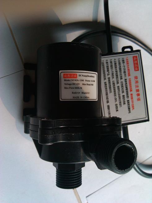 供应诺成NC50B微型高温水泵|直流高温小水泵|12v直流泵高温|24v直流潜水泵|太阳能高温循环泵