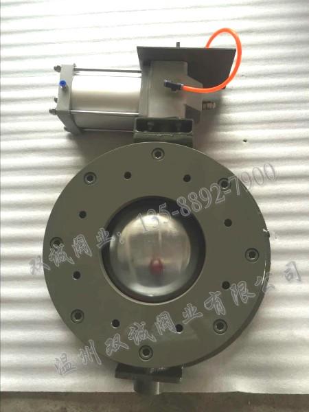 气动圆顶阀 球形气锁进料阀 温州双诚充气式圆顶阀厂家