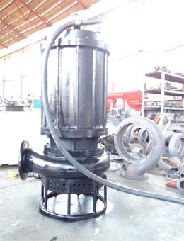 重庆大颗粒耐磨潜水洗砂泵、砂石泵、捞砂泵