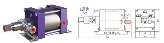 上海供应气动液体增压泵 大量销售LP系列气液增压泵 气动液体增压泵厂家