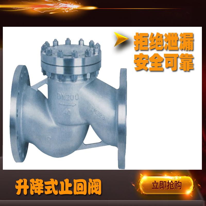 高压升降式不锈钢止回阀H41W-100P厦门双特厂