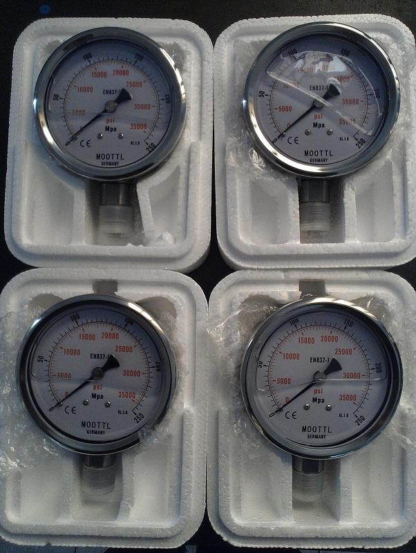 德国进口【MOOTTL超高压压力表/高压耐震压力表/压力查看器】