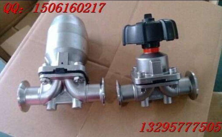 不锈钢快装隔膜阀、盖米型隔膜阀图片、隔膜阀原理优点