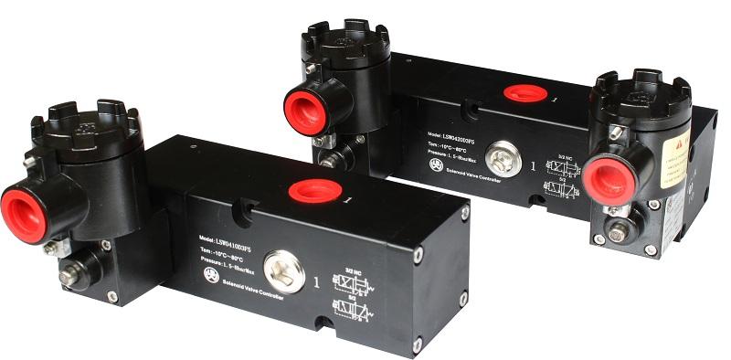 G1/2大口径CT6防爆等级电磁阀,隔爆电磁阀