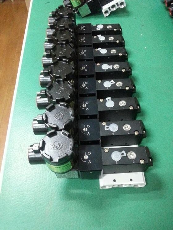 厂家直销CT6防爆气动电磁阀,集成安装隔爆电磁换向阀