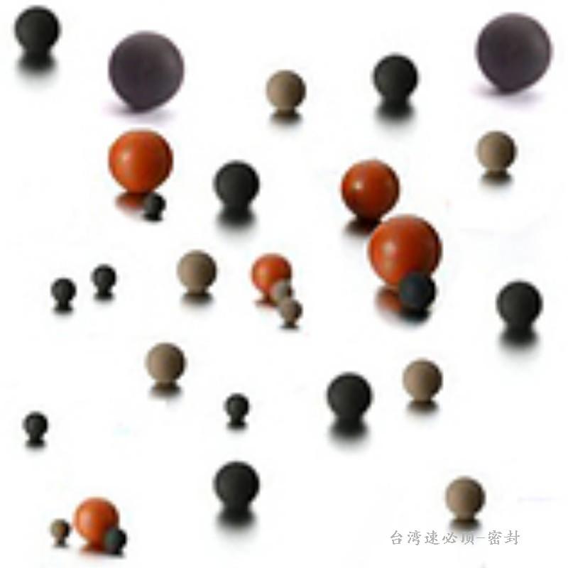 进口3.27mm橡胶球 实心水磨无痕  厂家直销 规格齐全
