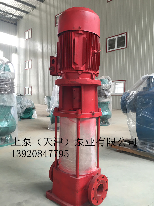 高效节能立式消防泵