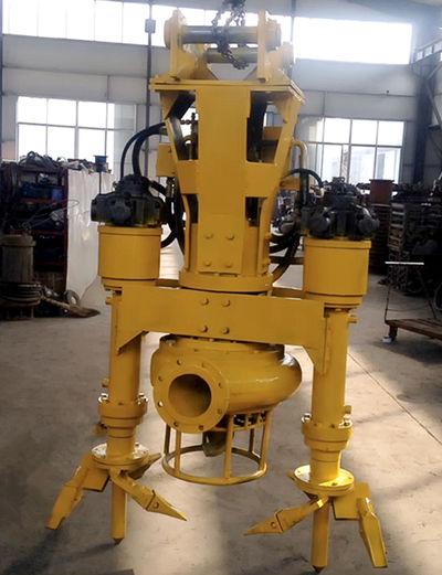 带搅拌器挖机液压清淤泥砂泵、吸泥泵