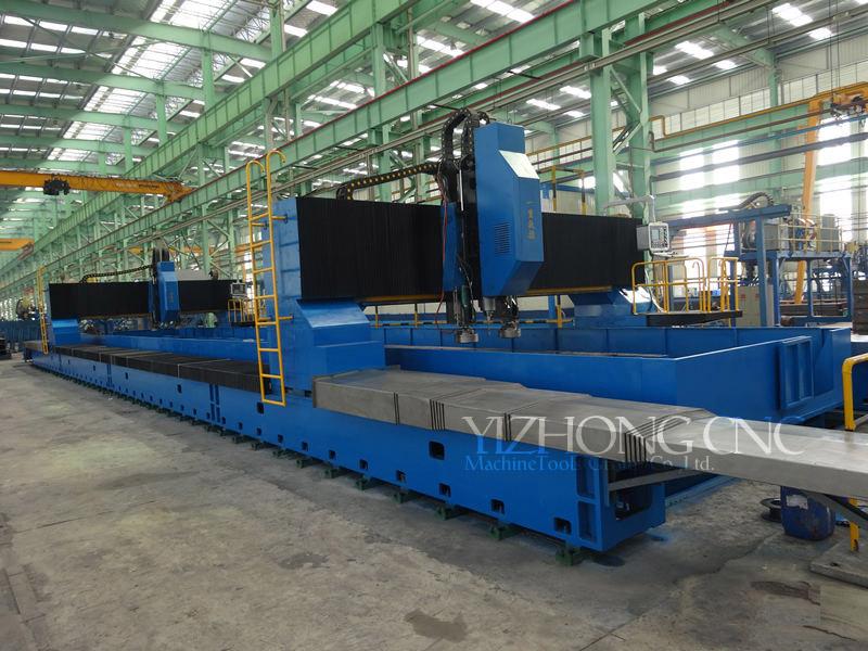 江苏一重供应――24米数控双龙门高速钻铣加工中心