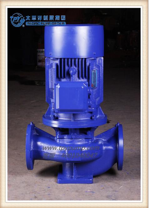 上海太平洋制泵 GW型管道式排污泵