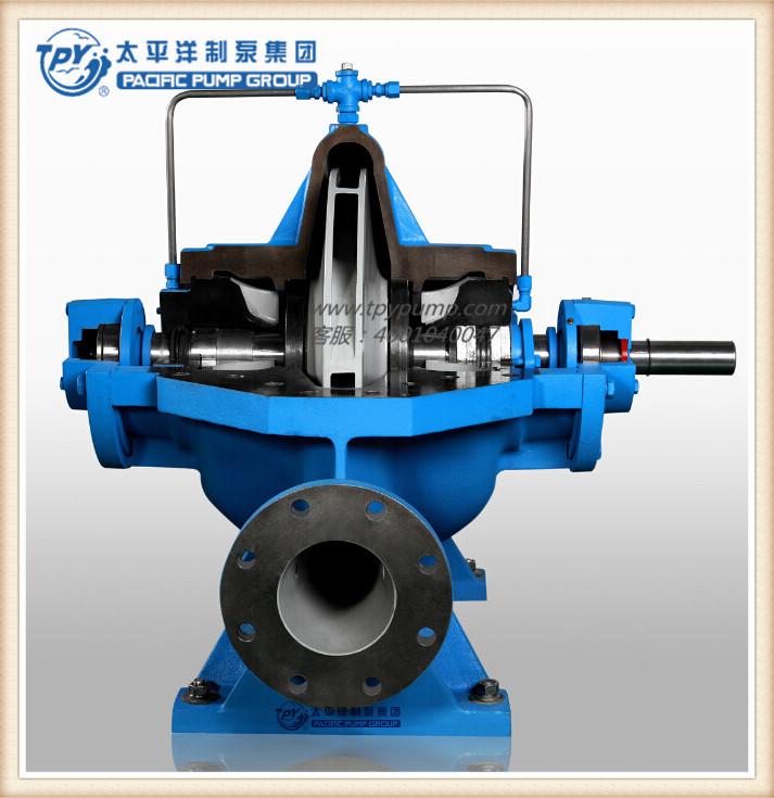 上海太平洋制泵 XBD-S型双吸中开消防泵