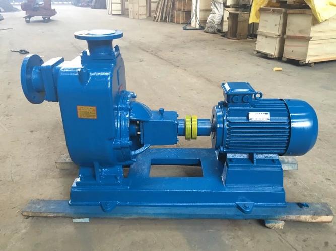 厂家供应ZX自吸泵、化工泵、自吸清水泵/80ZX43-17-4KW铸铁材质