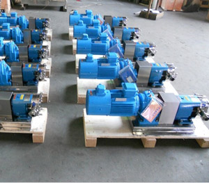 凸轮转子泵不锈钢转子泵凸轮转子泵生产厂家-明峰泵业