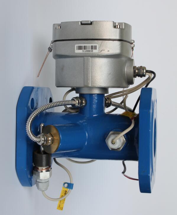 管网式 大口径超声波热量表、远传式热计量表DN200铸钢铝壳