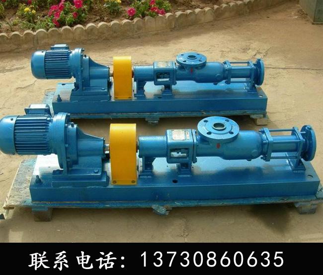 G型螺杆泵-G型单螺杆泵-四川螺杆泵价格-螺杆泵生产厂家-明峰泵业