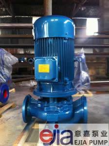 ISG40-100立式管道离心泵