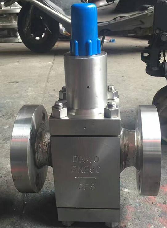 智科Y42F-150LB Y42F不锈钢高压氮气减压阀 不锈钢美标高压水用减压阀