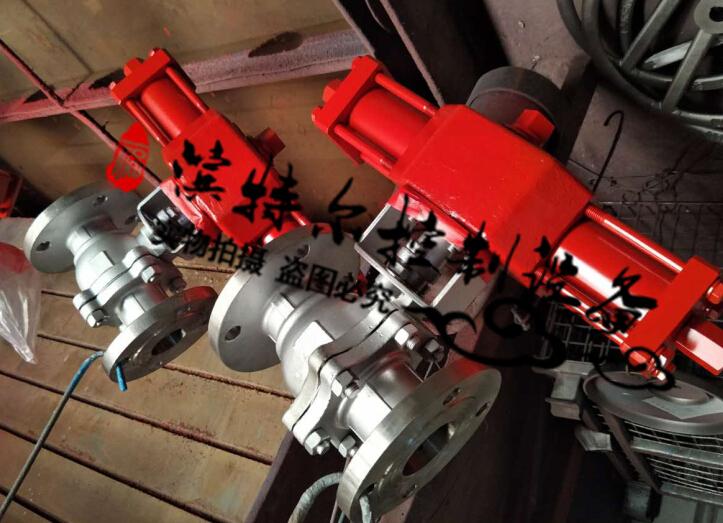 液压三通球阀离心机专用