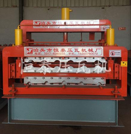 800竹筒-840双层压瓦机设备、双层彩钢瓦设备、双层彩钢压瓦机
