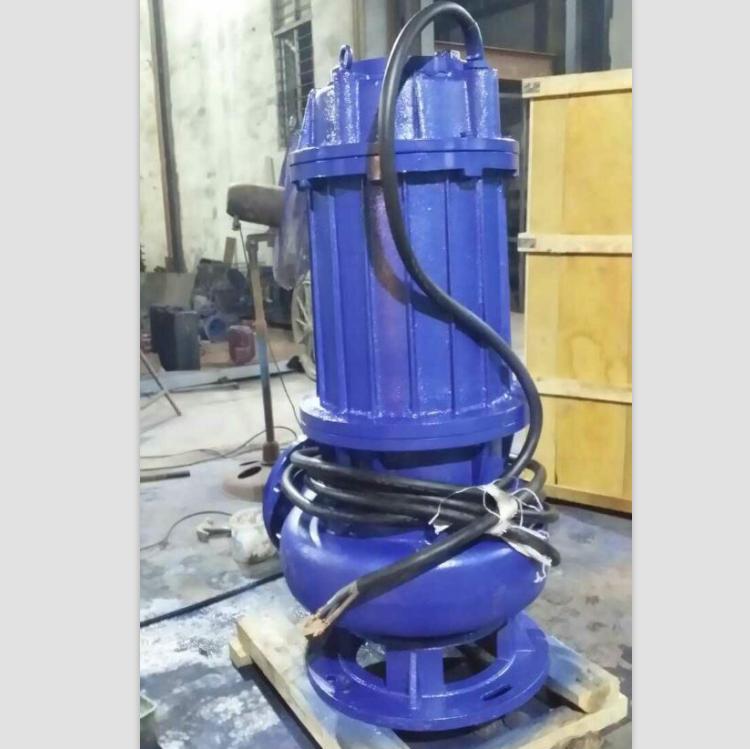直销优质100WQ80-20-7.5型无堵塞潜水排污泵