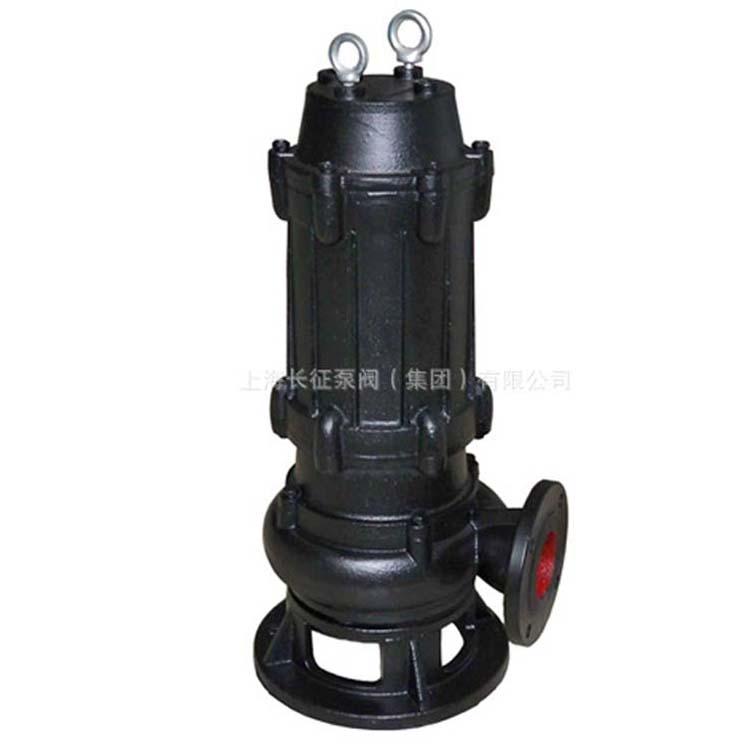 上海长征供应JYWQ自动搅匀排污泵 无堵塞排污泵