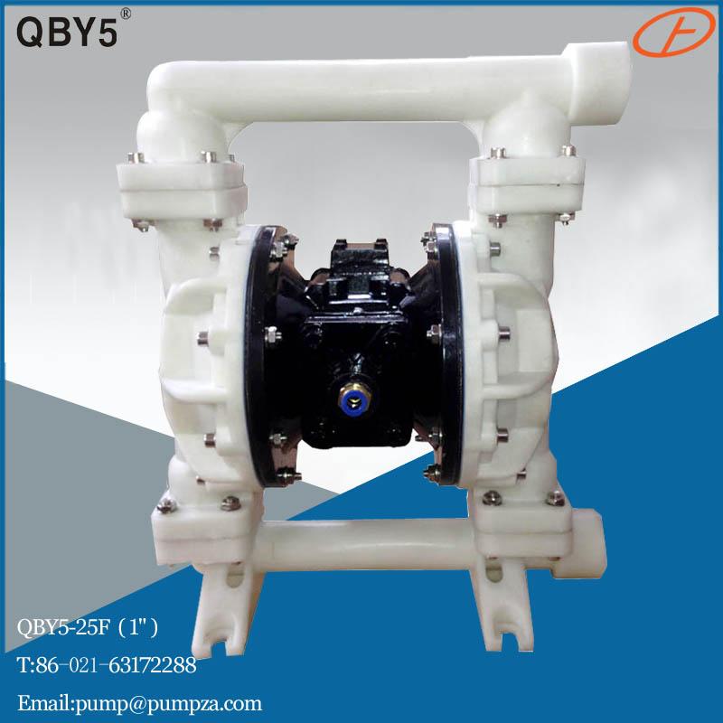 第五代QBY5-25F塑料气动隔膜泵 化工隔膜泵 耐腐蚀泵