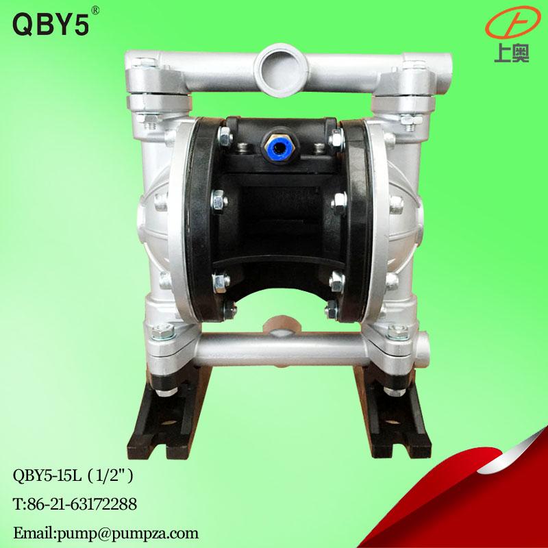 第五代QBY5-20L铝合金气动隔膜泵 化工隔膜泵 耐腐蚀泵