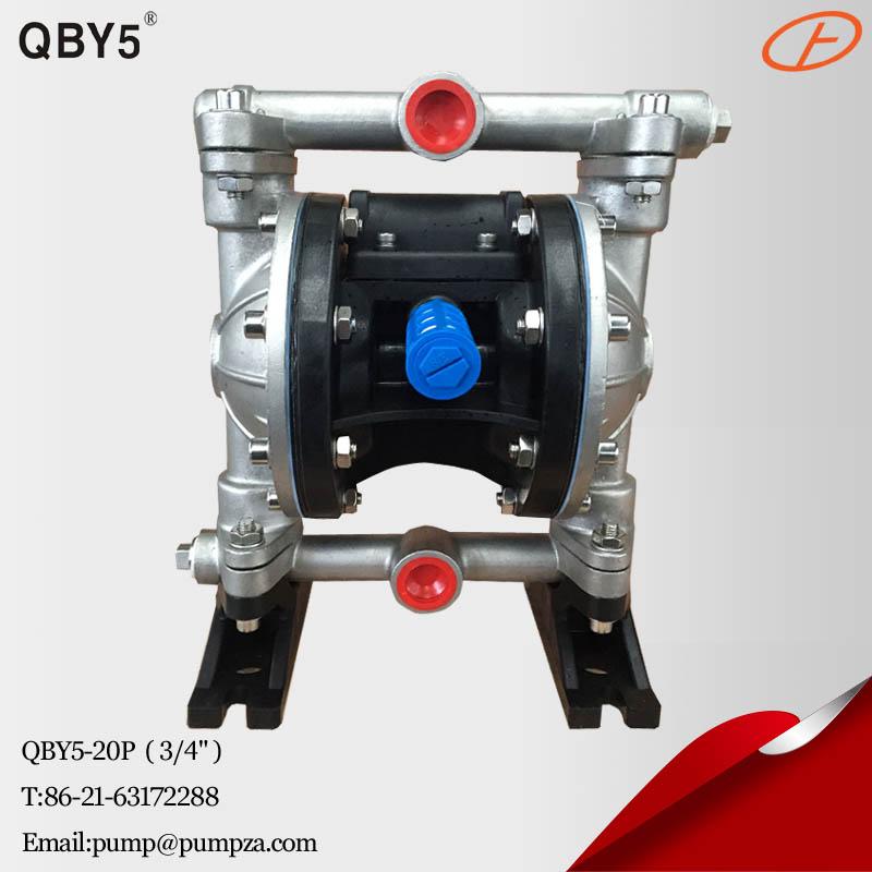 第五代QBY5-20P气动隔膜泵 化工隔膜泵 耐腐蚀泵