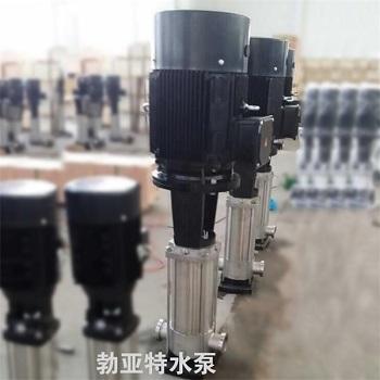 QDL系列不锈钢多级泵增压泵耐腐蚀