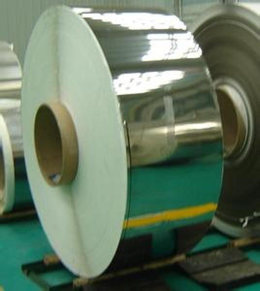 精磨镜面不锈钢带,logo专用316镜面不锈钢带