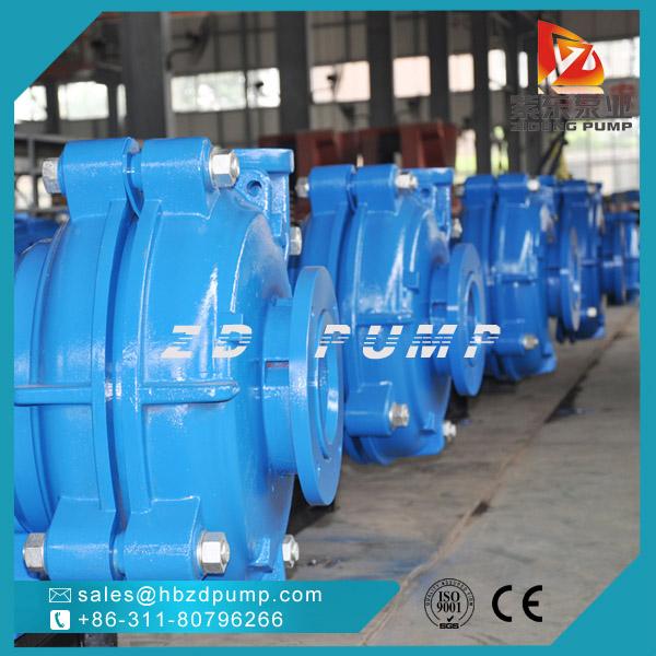 AH型双泵壳渣浆泵离心灰浆泵矿山尾矿排水专用泵