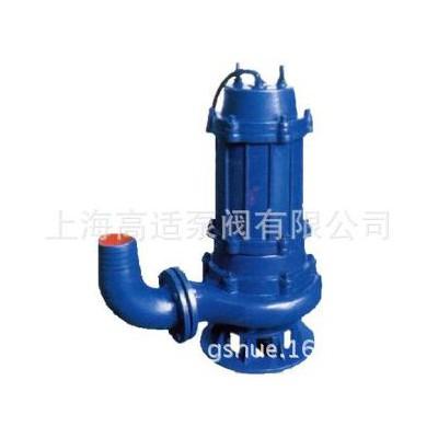 QW潜水排污泵 切割式潜水排污泵 耦合潜水排污泵 品质保障