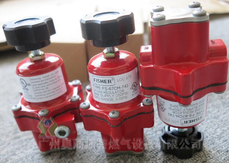67CH-743品牌FISHER  FS-67CH-743  LP-GAS REGULATOR 液化