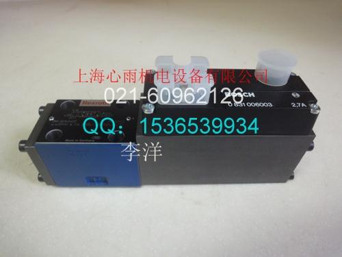 力士乐比例阀0811404036  4WRPH6C3B40L-2X/G24Z4/M 大量现货