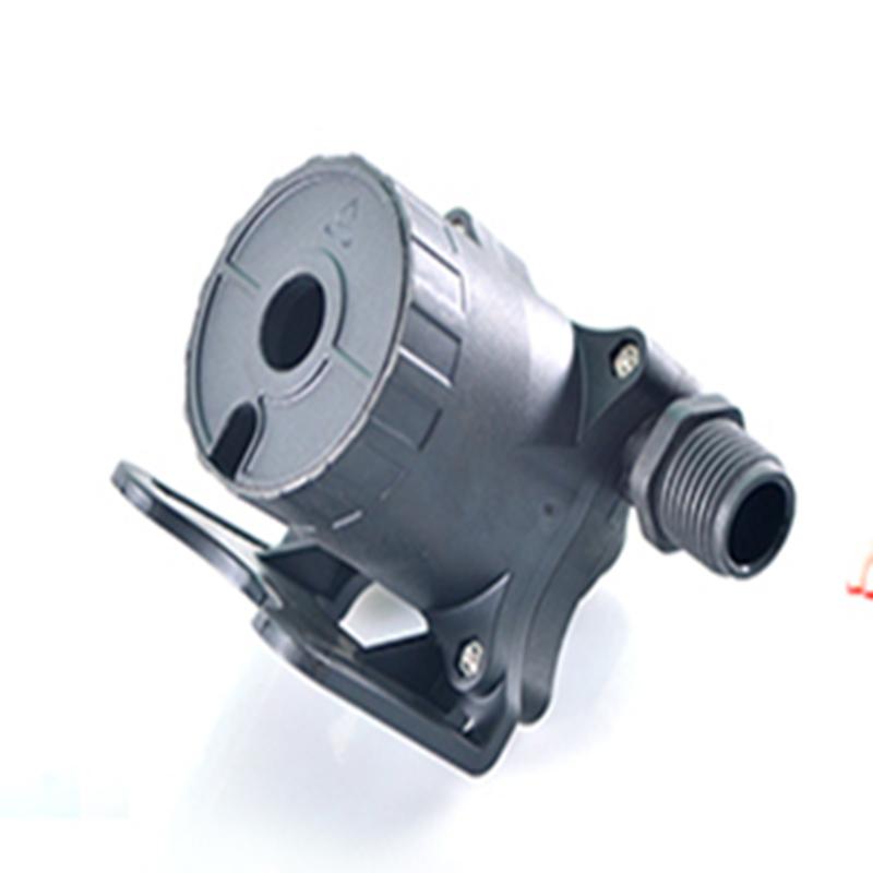 迷你车载汽车泵DC50F厂家批发电动汽车水泵 该泵主要用于各种电器,工艺品,喷泉,太阳能产品,工业产品,水冷系统及各种精密仪器配套,可长时间连续工作, 无碳刷无磨损,寿命可达1万到3万小时左右,特殊材料的产品可在高于或低于一般环境温度中长期使用,三相水泵可浸泡100度开水长期运转。可以潜水安装,核心部件由无刷马达,陶瓷轴承等组成,水电隔离,环氧树脂灌封,完全防水,防漏电,任意方向安装,噪音1M距离小于40dB。 DC50F主要技术参数 电压:DC12-24V 功率:24-86.