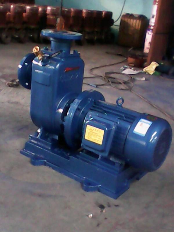 ZW自吸式托架型无堵塞排污泵40ZW15-35福州自吸泵福建自吸离心泵