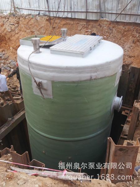厂家定制全自动化智能地埋式污水提升泵站PPS一体化预制泵站