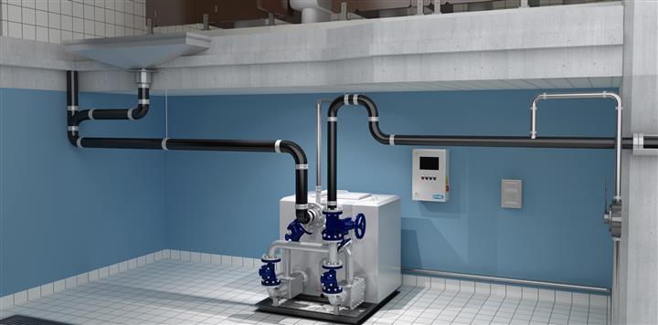 PW全自动排放设备/PW卫生间污水提升器