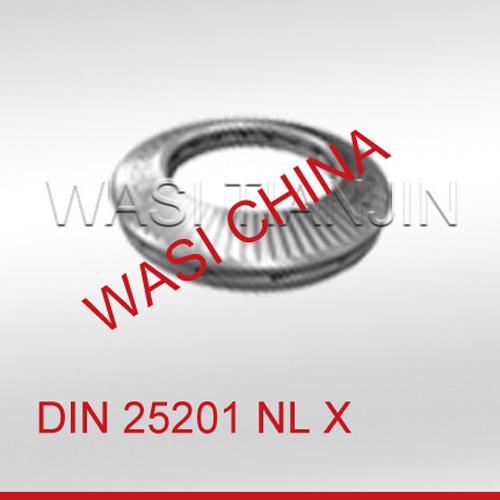 DIN25201防松垫圈_双叠自锁垫圈