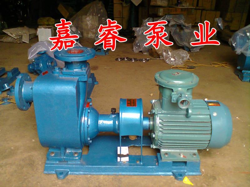 防爆离心泵认准嘉睿牌25CYZ-27自吸式离心泵聊城采购