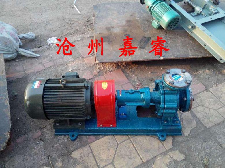 无锡RY40-25-160导热油泵冷风式热油泵认准嘉睿泵业