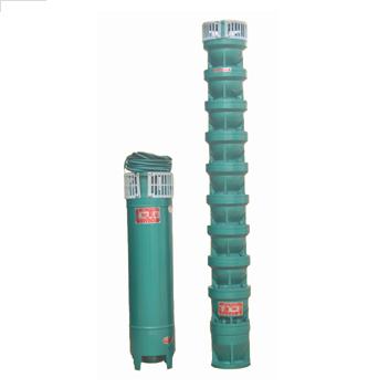 QJ型铸铁/不锈钢深井潜水电泵