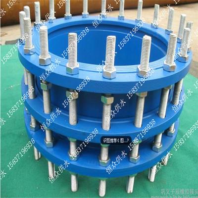 恒众VSSJAF补偿器的适用和管道要求 可拆卸双法兰传力接头价格安装