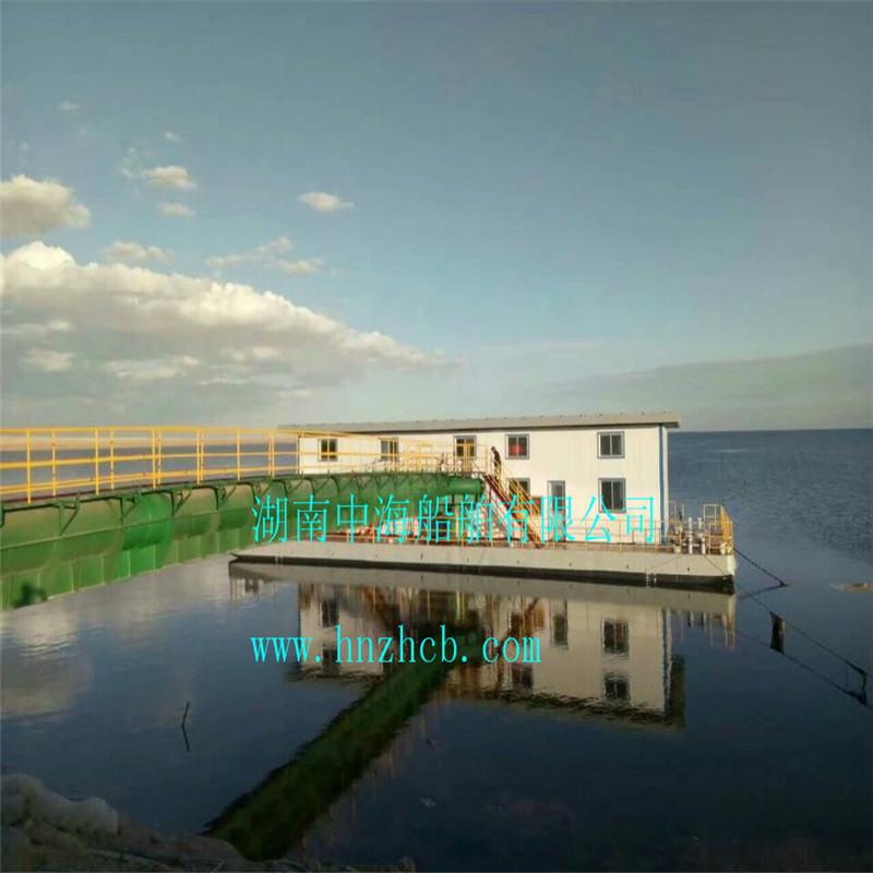 湖南中海船舶:取水泵船 浮坞泵站 移动式排污泵船