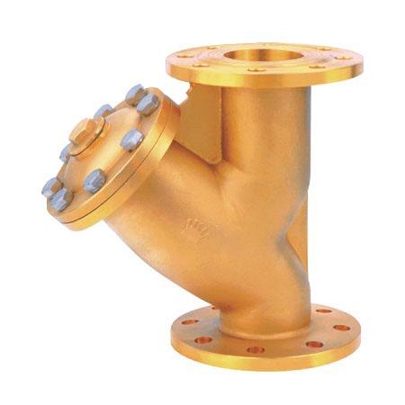 黄铜法兰水过滤器YG41W-16T