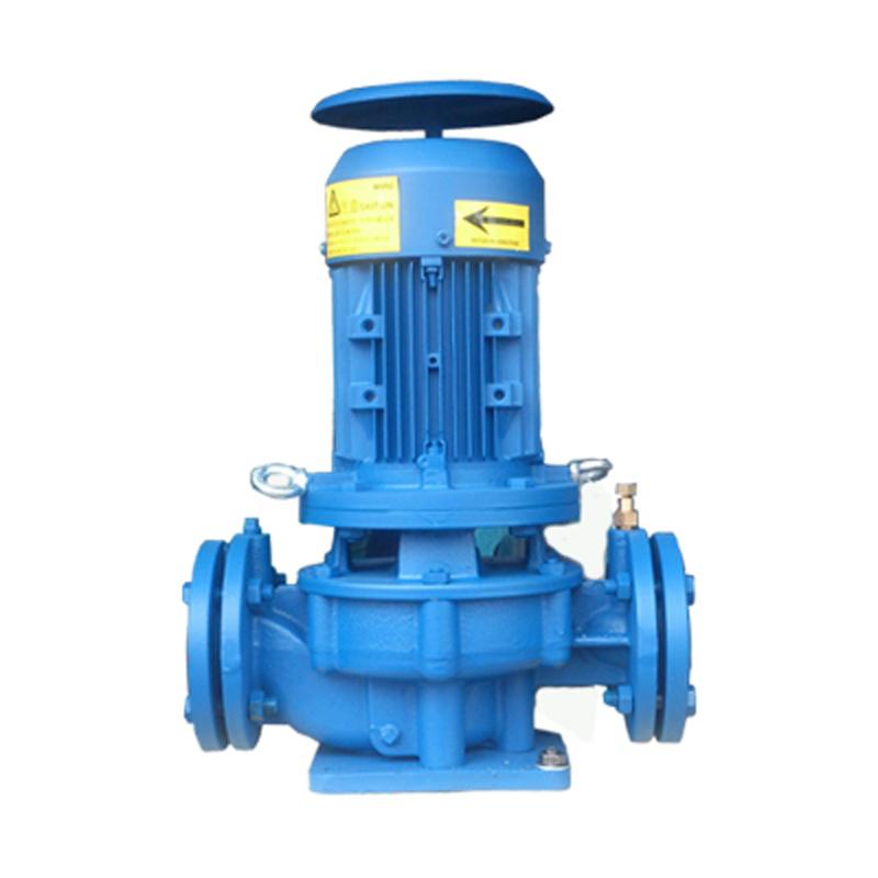 GD40-15立式管道循环泵 1.1KW直联式单级管道泵