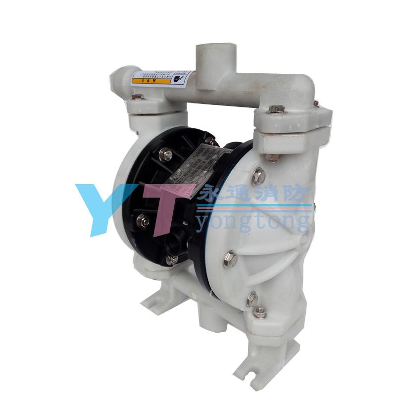 微型耐酸碱工程塑料气动隔膜泵QBY-15