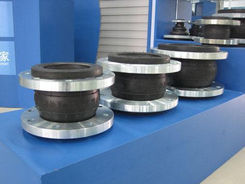 江苏单球体橡胶接头厂家沪瑞管业橡胶软接头价格低品质好