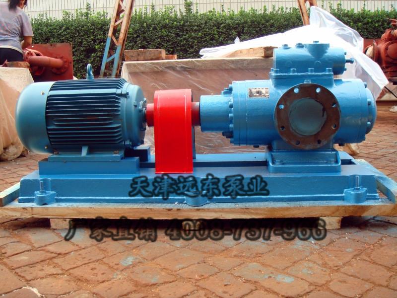 SNH440R40E6.7W21稀油站液压油三螺杆泵-天津远东泵业
